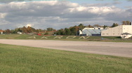 Stock Video Footage of Akron, Ohio: Timelapse of Airport Runway
