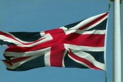 Union Jack 2 Stock Footage
