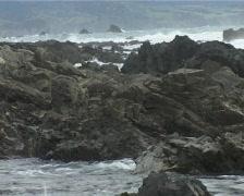 Rocks splash 1 Stock Footage