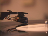 Gramophone or turntable  Stock Footage