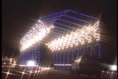 Christmas lights 2 - stock footage