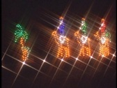 Christmas lights 3   Stock Footage