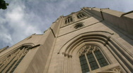 Stock Video Footage of Cleveland, Ohio: Timelapse of Amasa Stone Church