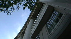 Cleveland, Ohio: Timelapse of Library at CWRU - stock footage