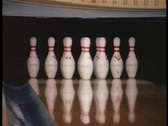 Stock Video Footage of Bowling strike
