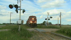 Country Train 2 - stock footage