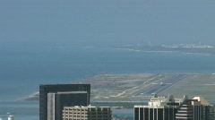 Honolulu airport jet take off M HD Stock Footage