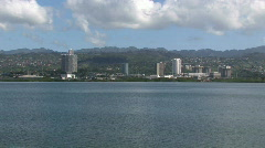 Pearl Harbor from Ford Island M HD Stock Footage