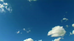 Clouds moving speed 1 Stock Footage