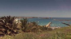 Atlantic ocean bay 1 Stock Footage