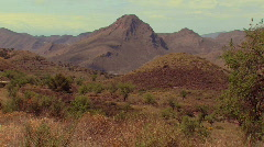 Mountains in summer Stock Footage