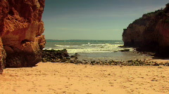 Scenic coastline 4 - stock footage