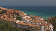 Seaside resort  Stock Footage