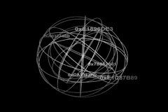 sphere spinning - stock footage