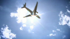 Airplane 01 - HD - stock footage