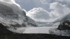 Athabasca Glacier MWS Stock Footage