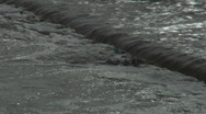 Stock Video Footage of Plastic bottles dancing in a flood