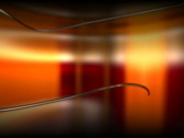 Media TV Cristal Text Window Stock Footage