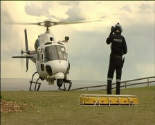 NSW Poliisi Helikopteri Search and Rescue Arkistovideo