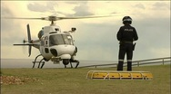 NSW Police Helicopter Search and Rescue Stock Footage