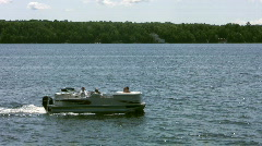 Boating - Leisure Craft Stock Footage