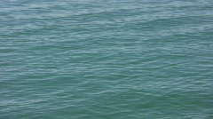Motion background. Blue green lake. - stock footage