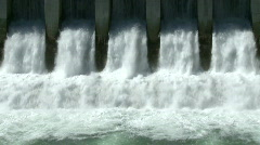 Hydro Power Dam 5 - stock footage