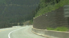 Winding Road Stock Footage