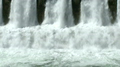 Hydro Power Dam 6 Stock Footage