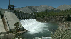 Hydro Power Dam 8 Stock Footage