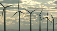 Wind Power 7 Stock Footage