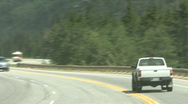 Road In The Rockies Stock Footage