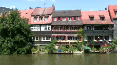 Germany Bamberg traditional fishermen district Stock Footage