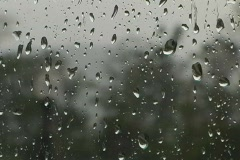 Window Raindrops Stock Footage