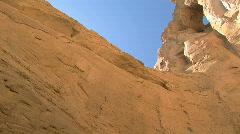 Grosvenor Arch, Grand Staircase Escalante National Monument, Utah, pan - stock footage