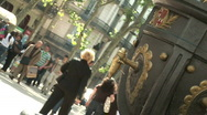 "Stock Video Footage of ""font de Canaletes"". The most famous fountain in Barcelona"