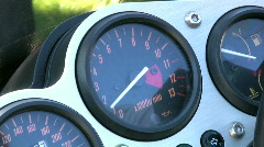 Motorcycle Stock Footage