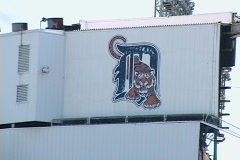 Tiger Stadium 03 Stock Footage