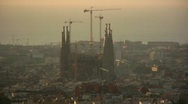 Stock Video Footage of La Sagrada Familia, Barcelona, Spain