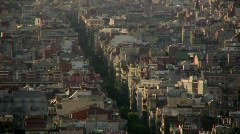 Barcelona, Catalonia, Spain - stock footage