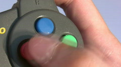 Video game controller Stock Footage