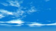 Db clouds 05 hd720 Stock Footage