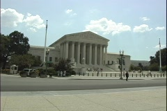 Supreme Court - stock footage