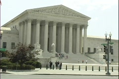 Supreme Court1 - stock footage