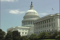 U.S. Capitol - stock footage