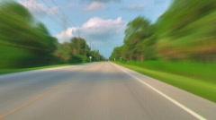 HD Road Racing 01 (720p 23.98) Stock Footage