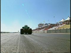 "Stock Video Footage of motorsports, drag racing, top fuel altered in reverse ""Nanook"""