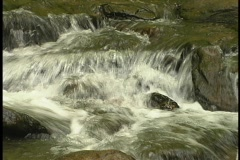 Waterfall over the top Stock Footage