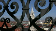 Stock Video Footage of Germany Munich New town hall Frauenkirche Rathaus