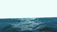 Ocean Swell Boat Stock Footage